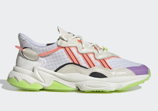 """The adidas Ozweego Appears In A """"Chaos"""" Style Colorway"""