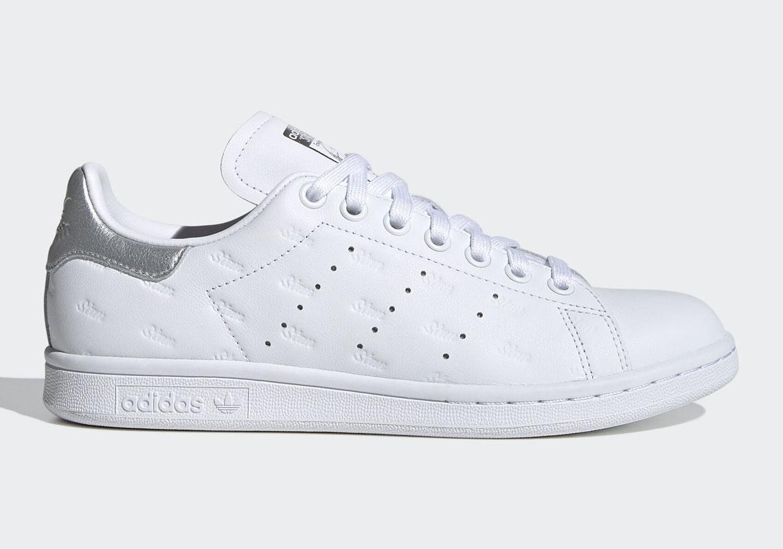 empezar soborno Rubicundo  adidas Stan Smith Silver Gold EF6853 EF6854 | SneakerNews.com