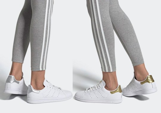 "The adidas Stan Smith ""Debossed Pack"" For Women Is Available Now"