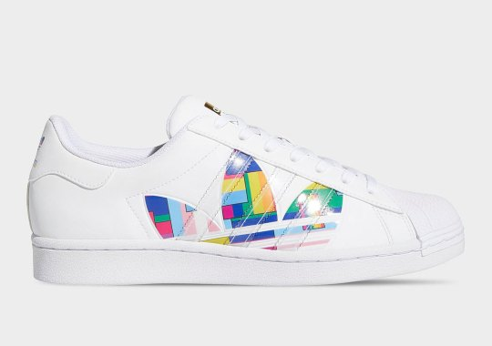 First Look At The adidas Superstar For Pride Month 2020