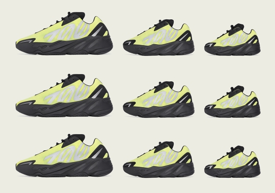 "adidas Officially Confirms The Yeezy Boost 700 MNVN ""Phosphor"" For A US, Europe, And Japan Release"