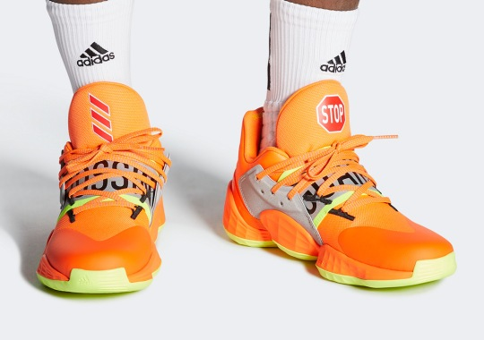 """The adidas Harden Vol. 4 """"Crossing Guards"""" Recognizes James Harden's Crossover Talents"""