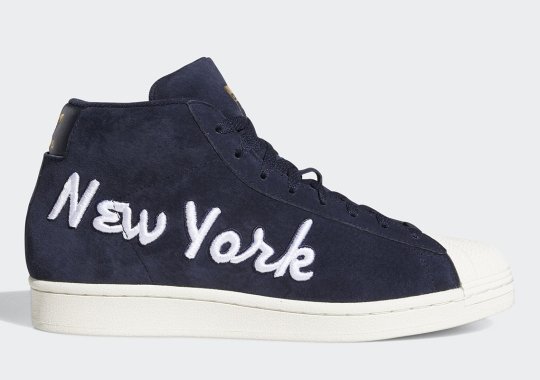 """adidas Pays Homage To Vintage With A """"New York"""" Marked Pro Model"""