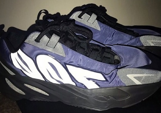 An adidas Yeezy Boost 700 MNVN Sample In Navy Emerges