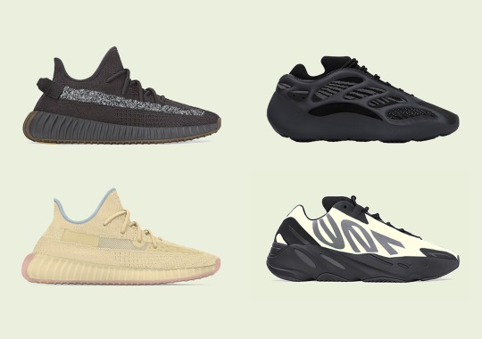 adidas Yeezy Release Dates For April 2020