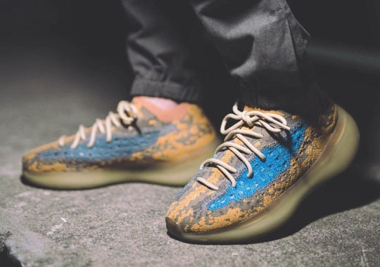 """Detailed Look At The adidas Yeezy Boost 380 """"Blue Oat"""""""