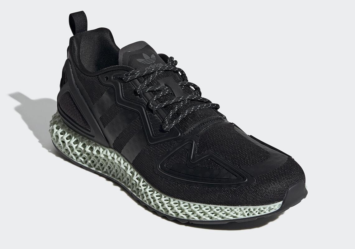 adidas ZX 2K 4D Core Black FV9027 - Release Info | SneakerNews.com