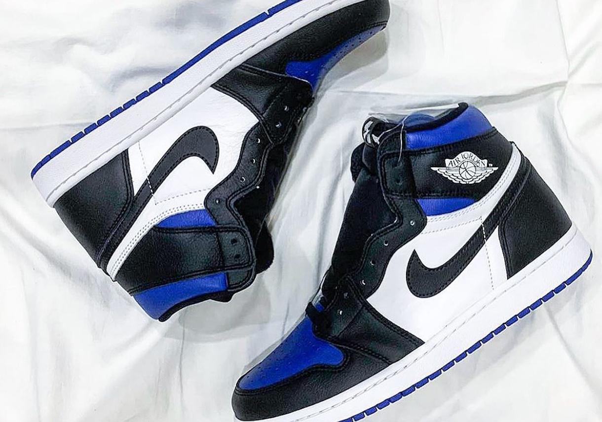 Air Jordan 1 High Roya Toel 555088 041 Sneakernews Com