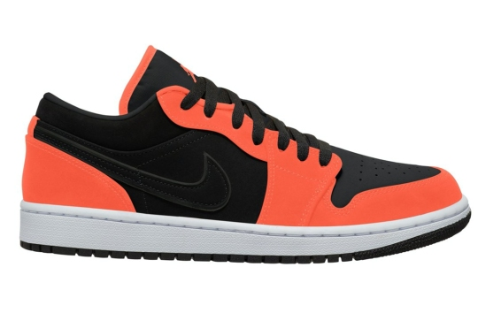 The Air Jordan 1 Low Is Dropping Soon With Neon Orange Accents