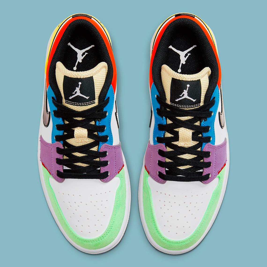 Air Jordan 1 Low Multi Color Cz3572 104 Sneakernews Com