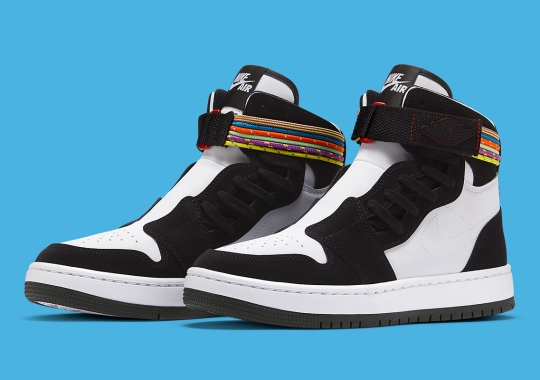 The Air Jordan 1 Nova Ankle Straps Built With 90s Backpack Ephemera
