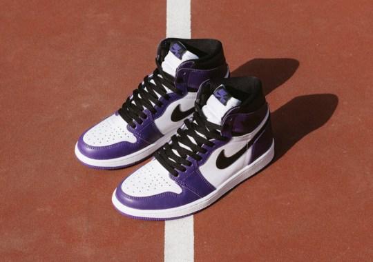 "Air Jordan 1 Retro High OG ""Court Purple"" Releases Tomorrow"