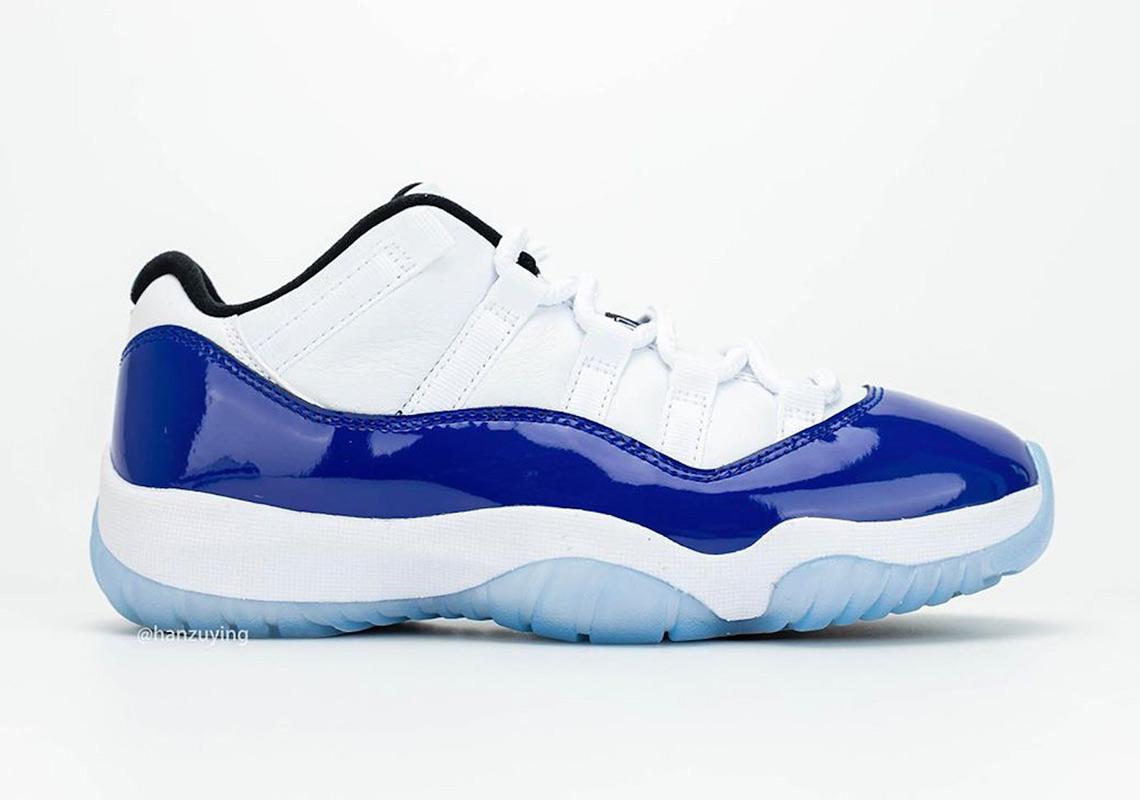 concord jordans blue