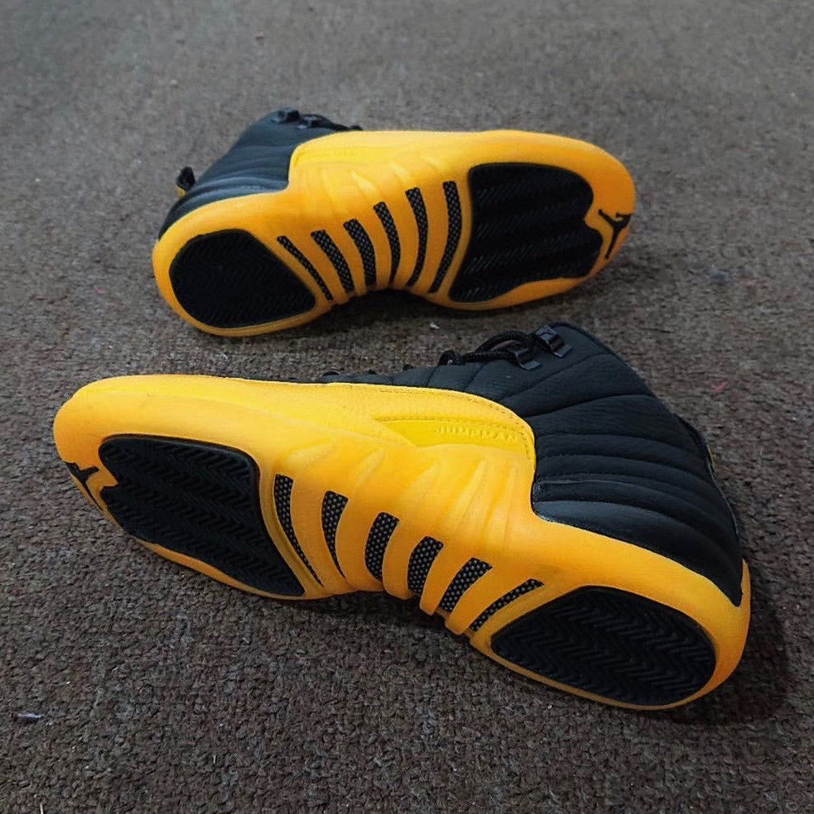 Air Jordan 12 Black University Gold Release Info Sneakernews Com