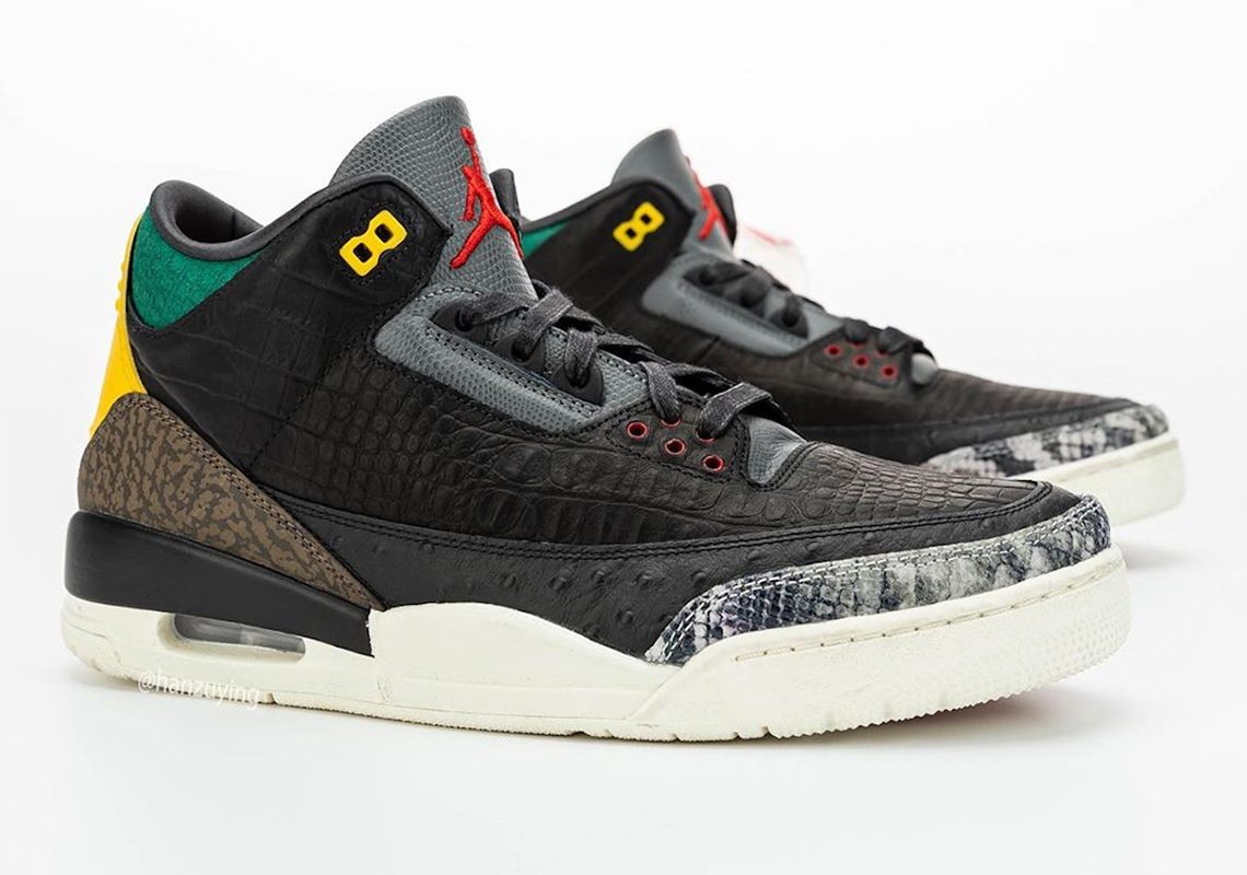 Air Jordan 3 Animal Instinct 2.0 CV3583-003 SneakerNews.com