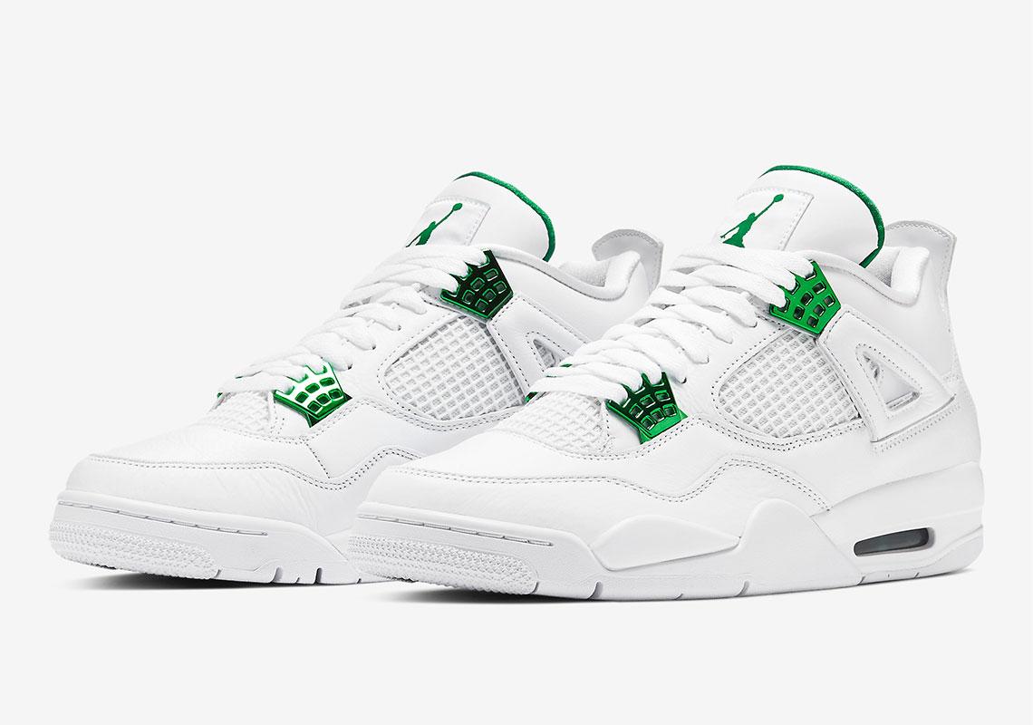 Air Jordan 4 Metallic Green CT8527-113