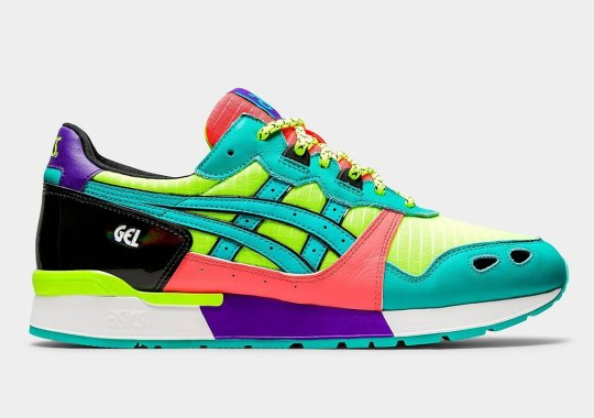 The ASICS GEL-Lyte Gets Covered In High Contrast Neons