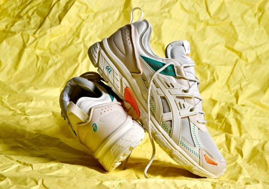 """The ASICS GEL-Venture Appears in Lifestyle Friendly """"Birch"""""""