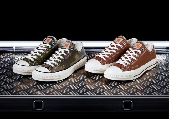 Carhartt WIP And Converse Are Bringing Back Their Chuck 70