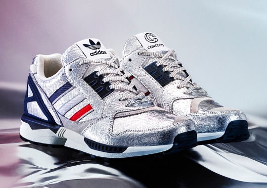 The Concepts x adidas ZX9000 Is Inspired By Marathon Runner Mylar Recovery Blankets
