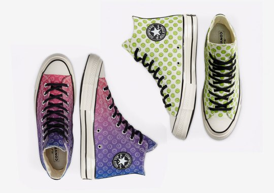 """The Converse Chuck 70 """"Happy Camper"""" Pack Is All Smiles"""
