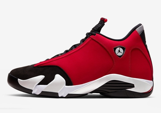 "First Look At The Air Jordan 14 ""Gym Red"""