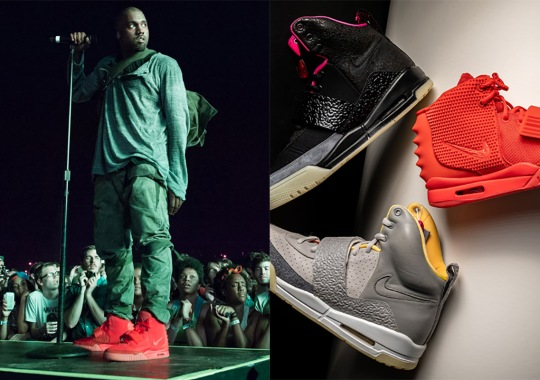 Kanye West Gives Nike His Blessing To Retro The Air Yeezys