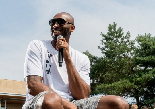 A Motherlode Of Kobe Bryant's Sneakers Are Being Auctioned Off In Honor Of HOF Induction