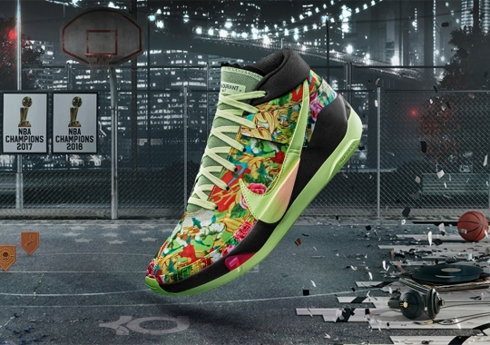 """NBA2K20 And Nike Expand Their Gamer Exclusives With The KD 13 """"Funk"""""""