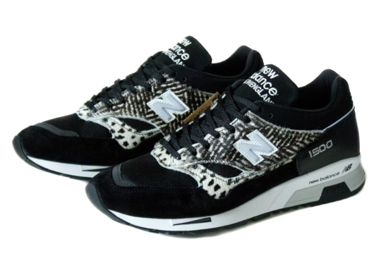 """The New Balance 1500 """"Animal Pack"""" Gets Spots And Stripes In Black And White"""