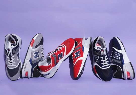 "New Balance 997S ""New England Pack"" Presents A Trio Of Iconic Colors"