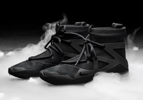 "The Nike Air Fear of God 1 ""Triple Black"" Releases Tomorrow"