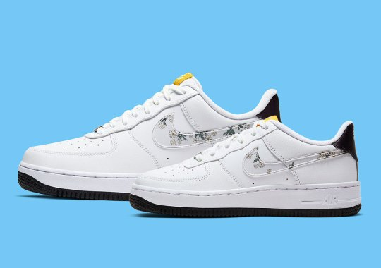 "Nike Blooms The Air Force 1 ""Daisy"" As Spring Rolls On"