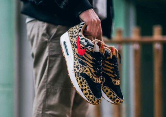 """The Nike Air Max 1 """"Animal Pack 2.0"""" Is Releasing Again At afew"""