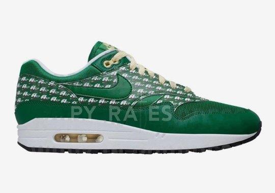"The Nike Air Max 1 ""Lemonade"" To Release In Alternate Pine Green Colorway"