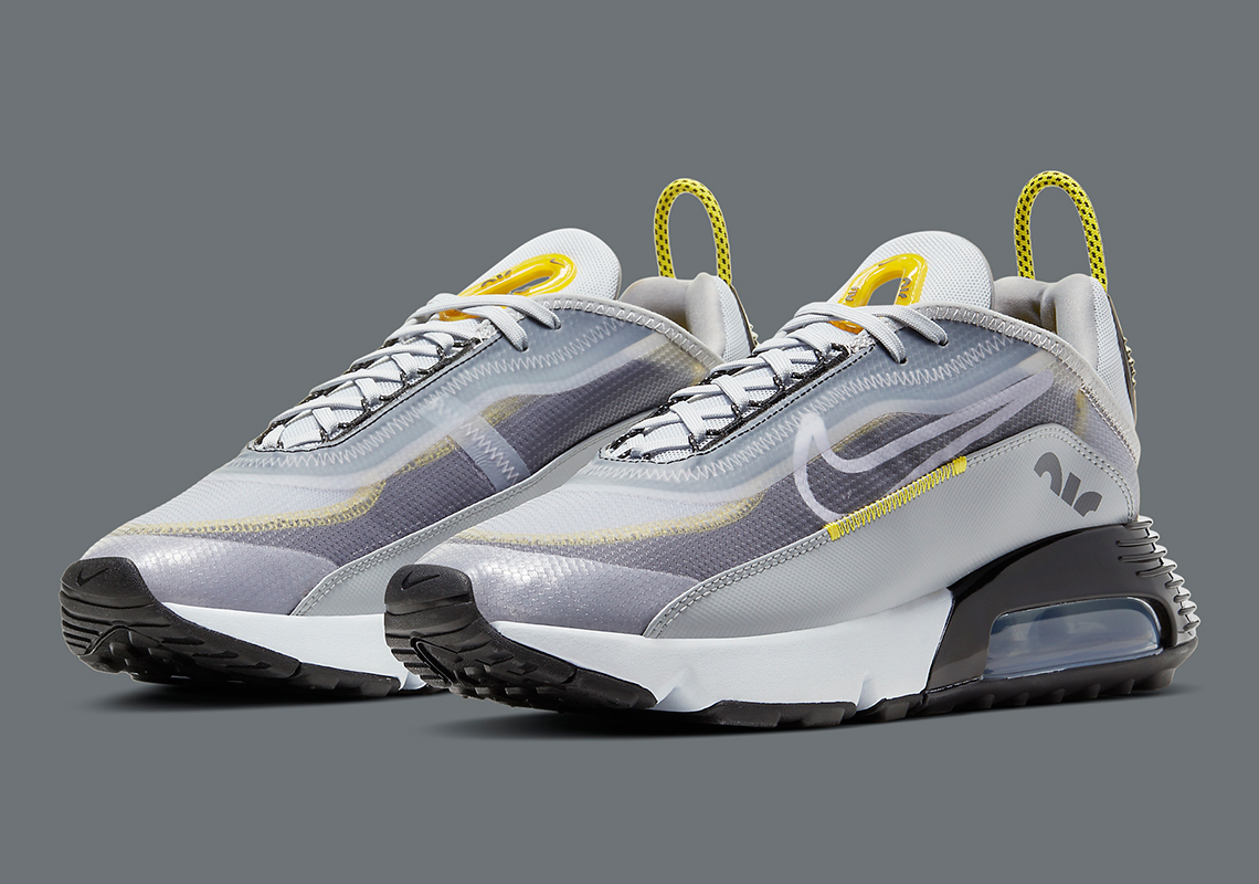 Socialismo bebida cupón  Nike Air Max 2090 Grey Yellow BV9977-002 | SneakerNews.com