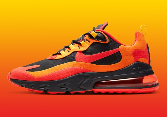 """The Nike Air Max 270 React """"Magma"""" Is Available Now"""