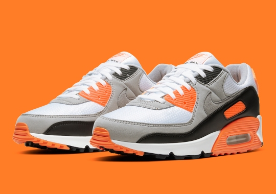 Nike's Recrafted Air Max 90 OG Ushers In Orange To The Mix