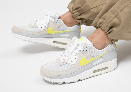 "The Nike Air Max 90 ""Lemon Venom"" For Women Is Available Now"