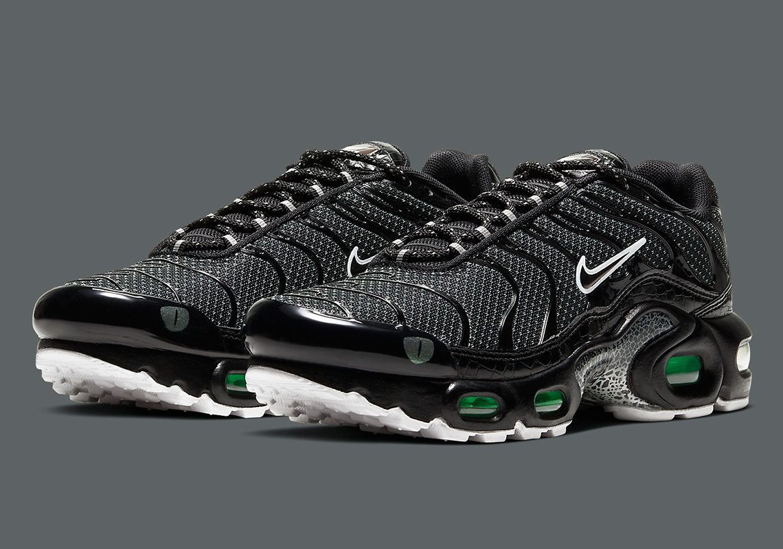 Nike Air Max Plus Noir Vert CV2392 001 Crumpe