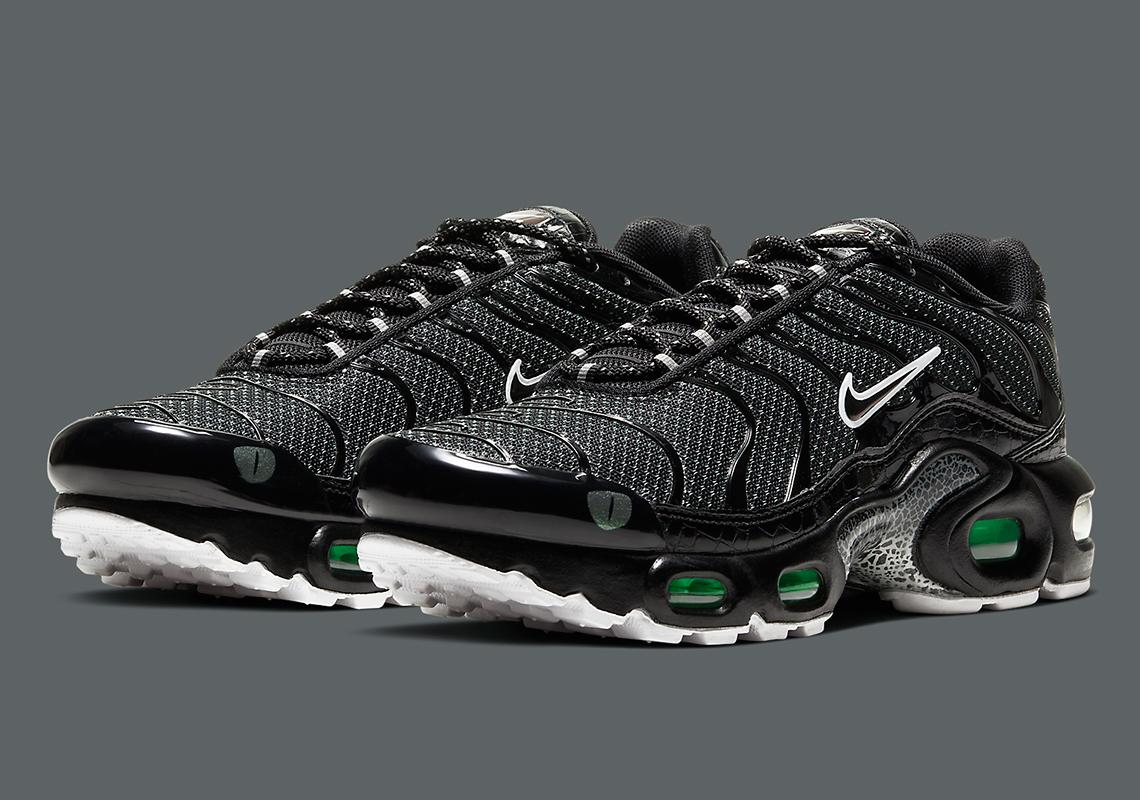 Nike Air Max Plus Black Green CV2392-001   SneakerNews.com