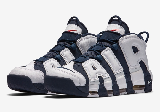 "The Nike Air More Uptempo ""Olympic"" Returns In 2020"