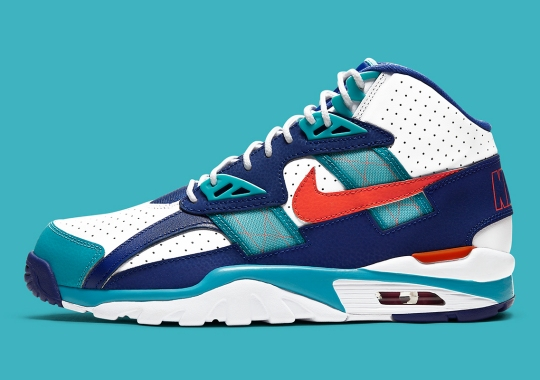 The Nike Air Trainer SC High Goes Classic Miami Dolphins