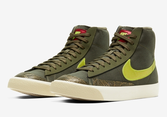 The Nike Blazer Mid '77 Covered In Jungle Themes