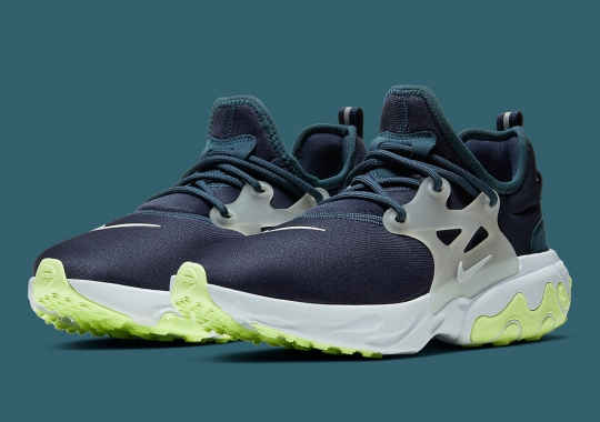 The Nike React Presto Emerges In A Seattle Seahawks Colors