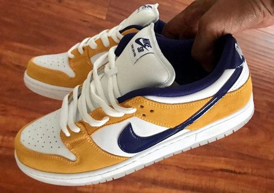 "Nike SB Dunk Low ""Laser Orange"" Arriving In May"