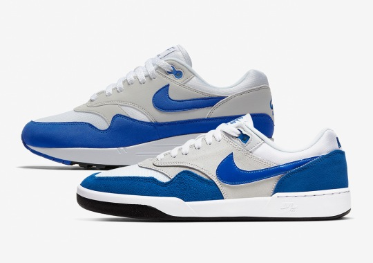 "The Nike SB GTS Return Gets Inspired By The Air Max 1 ""Sport Royal"""