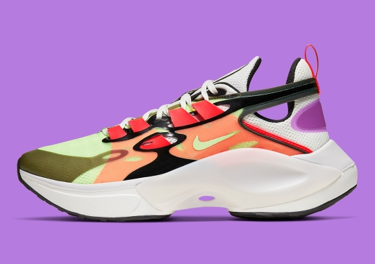 The Nike Signal D/MS/X Returns In Multi-Colored Neons For Spring