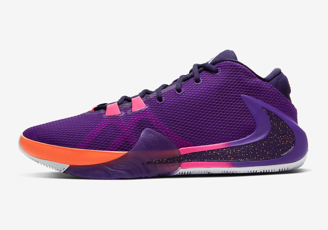 Descriptivo Retocar raro  NBA2K Nike Freak 1 All Bros 4 Purple Orange | SneakerNews.com