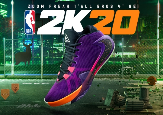 "Nike And NBA2K20 Jumpstart Playoffs With Zoom Freak 1 ""All Bros 4″"